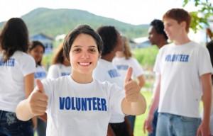 millenial-volunteer