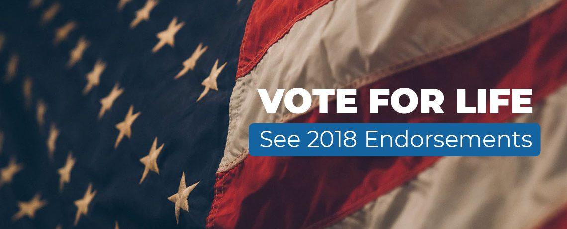 California ProLife PAC Endorsements 2018