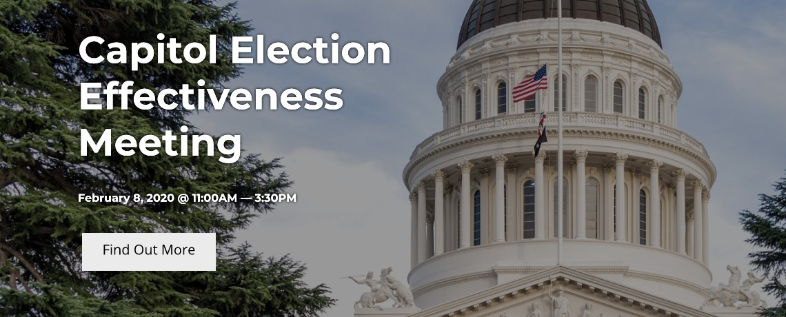 Capitol Election Effectiveness Meeting